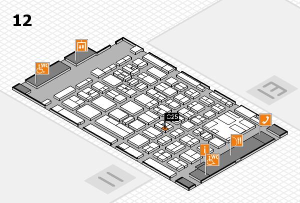 boot 2017 hall map (Hall 12): stand C25