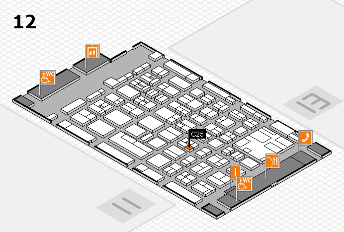 boot 2017 Hallenplan (Halle 12): Stand C25