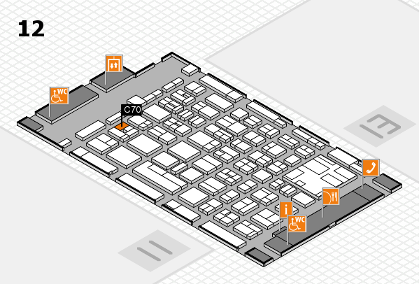 boot 2017 hall map (Hall 12): stand C70
