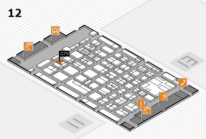 boot 2017 Hallenplan (Halle 12): Stand C70