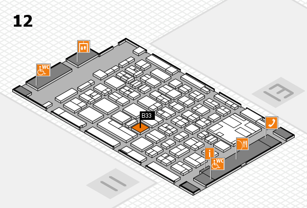 boot 2017 hall map (Hall 12): stand B33