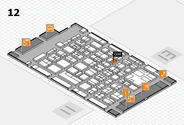 boot 2017 hall map (Hall 12): stand G34
