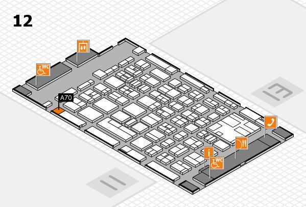 boot 2017 hall map (Hall 12): stand A70