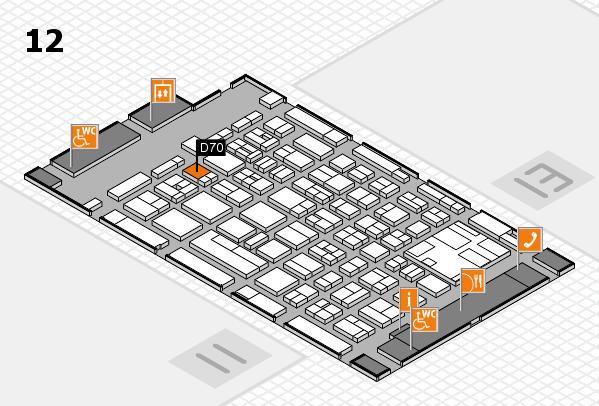 boot 2017 Hallenplan (Halle 12): Stand D70