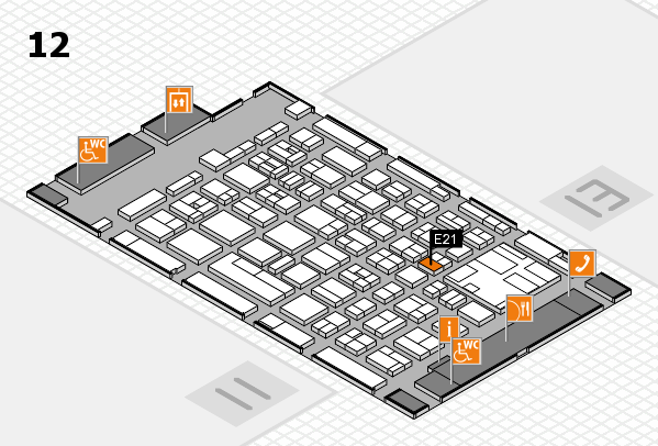 boot 2017 hall map (Hall 12): stand E21