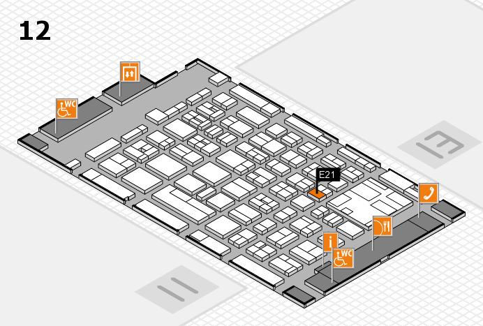 boot 2017 Hallenplan (Halle 12): Stand E21