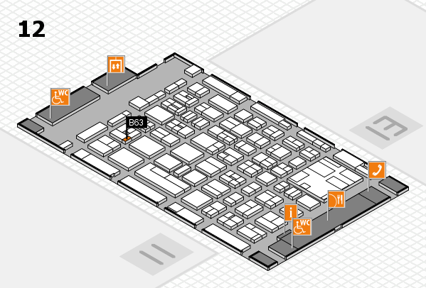 boot 2017 Hallenplan (Halle 12): Stand B63