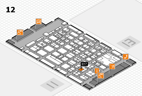 boot 2017 hall map (Hall 12): stand B17
