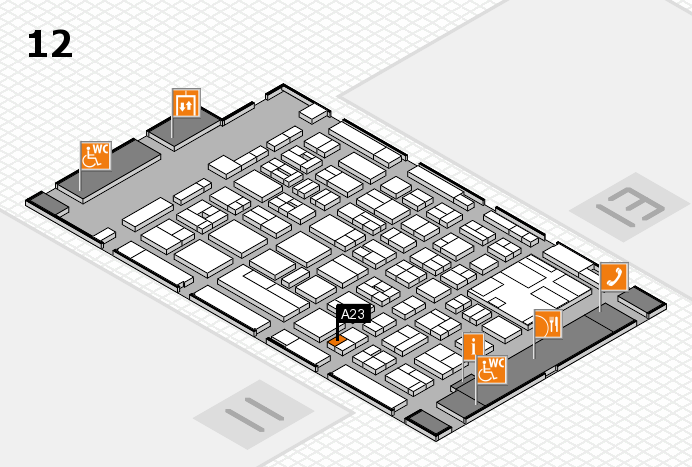 boot 2017 hall map (Hall 12): stand A23