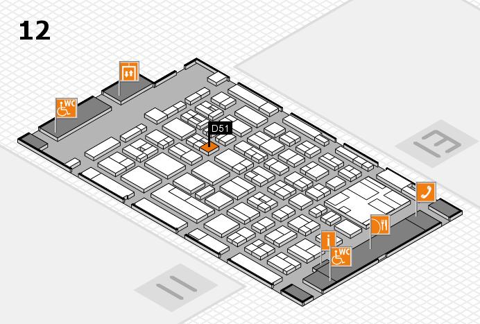 boot 2017 Hallenplan (Halle 12): Stand D51