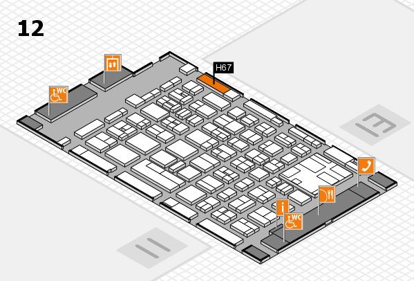 boot 2017 hall map (Hall 12): stand H67