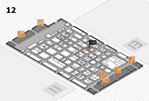 boot 2017 hall map (Hall 12): stand G36