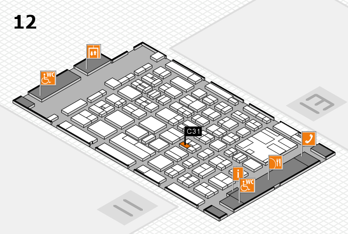 boot 2017 hall map (Hall 12): stand C31