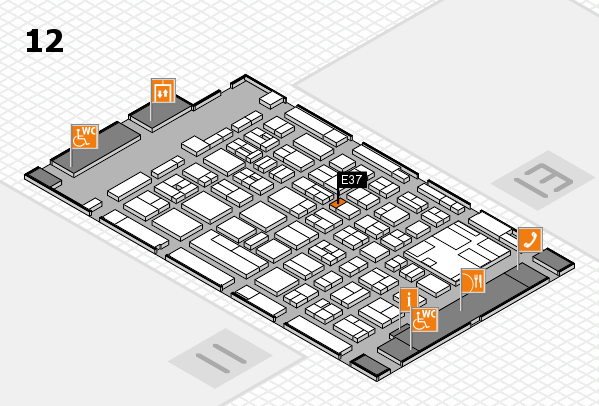 boot 2017 hall map (Hall 12): stand E37