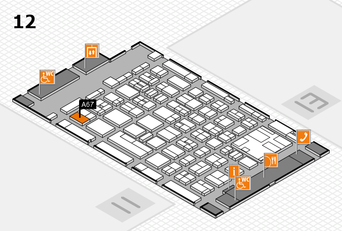 boot 2017 Hallenplan (Halle 12): Stand A67