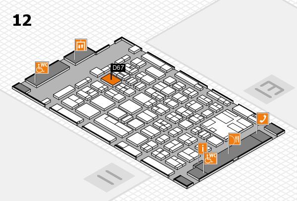boot 2017 Hallenplan (Halle 12): Stand D67