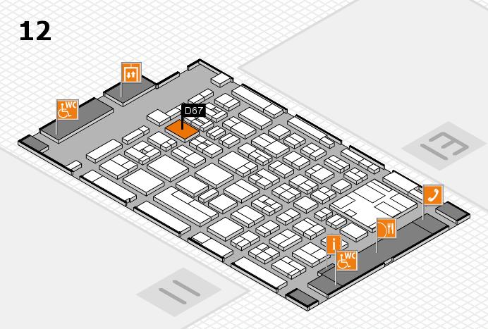 boot 2017 hall map (Hall 12): stand D67