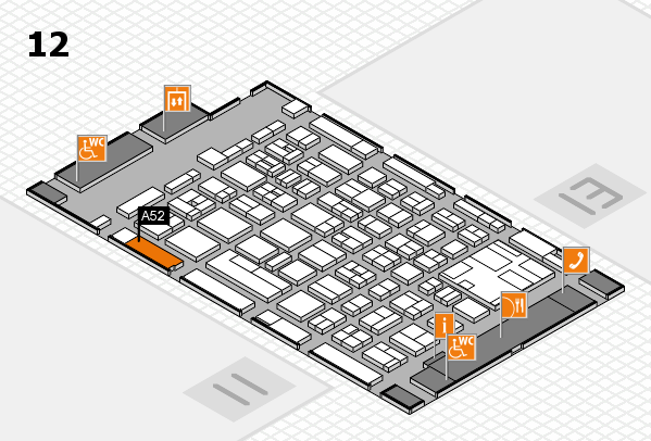 boot 2017 hall map (Hall 12): stand A52