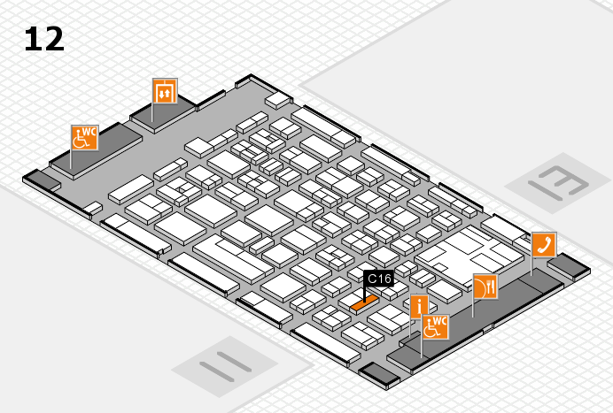 boot 2017 Hallenplan (Halle 12): Stand C16