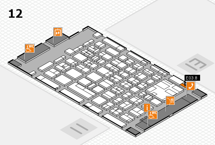 boot 2017 hall map (Hall 12): stand E03.8