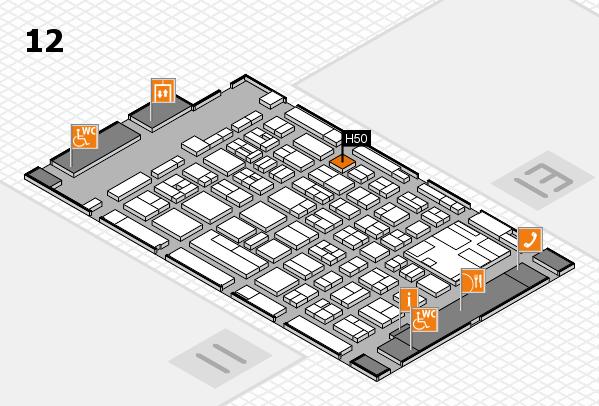 boot 2017 hall map (Hall 12): stand H50