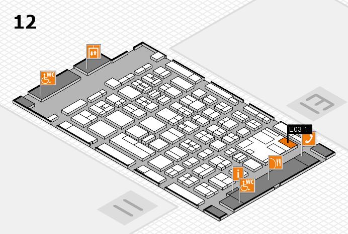 boot 2017 Hallenplan (Halle 12): Stand E03.1
