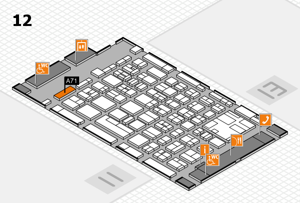 boot 2017 hall map (Hall 12): stand A71