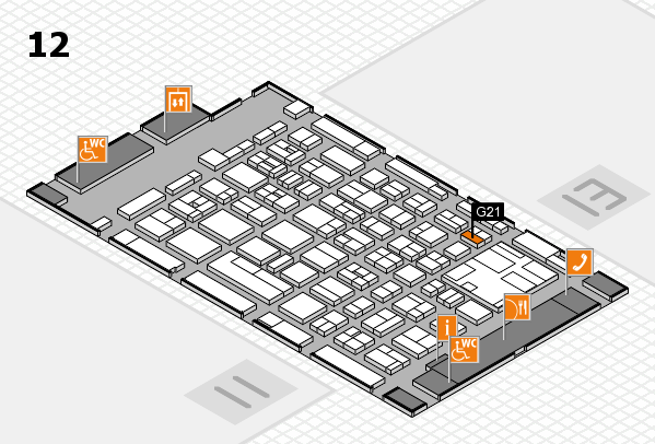 boot 2017 hall map (Hall 12): stand G21