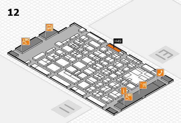 boot 2017 hall map (Hall 12): stand H49