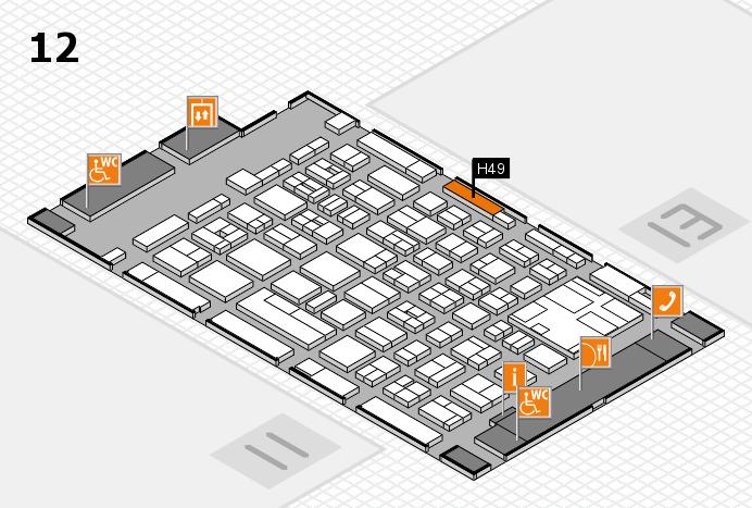 boot 2017 Hallenplan (Halle 12): Stand H49