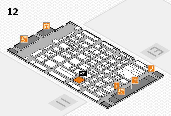boot 2017 hall map (Hall 12): stand A31