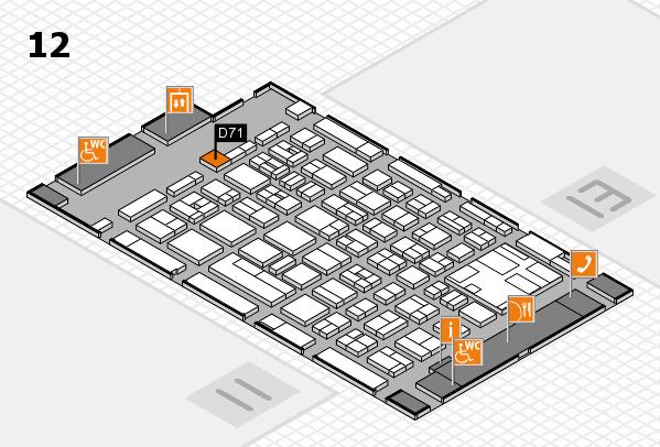 boot 2017 hall map (Hall 12): stand D71
