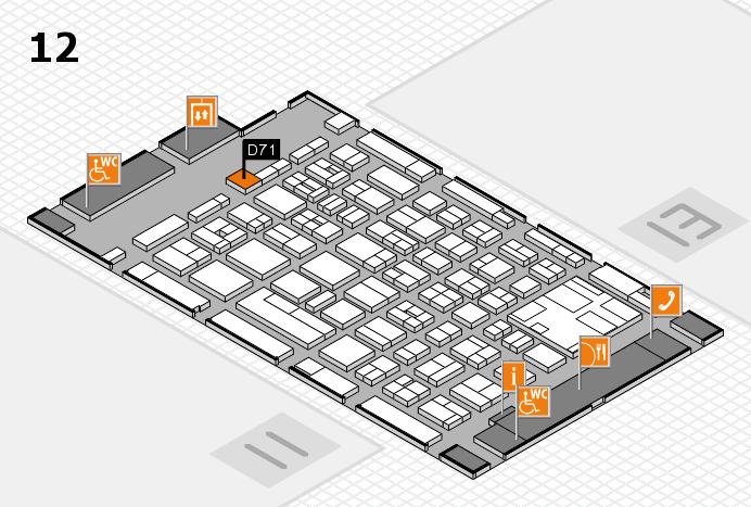 boot 2017 Hallenplan (Halle 12): Stand D71