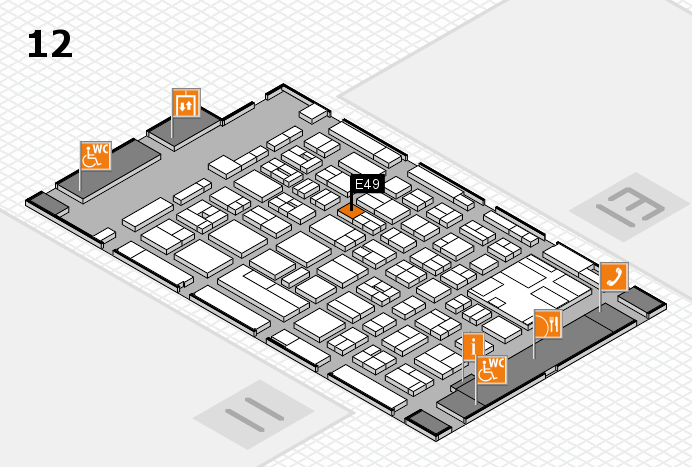 boot 2017 hall map (Hall 12): stand E49
