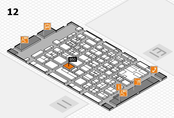 boot 2017 Hallenplan (Halle 12): Stand B50