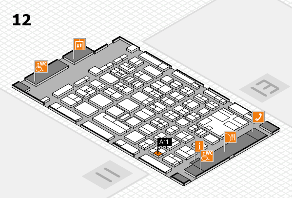boot 2017 hall map (Hall 12): stand A11