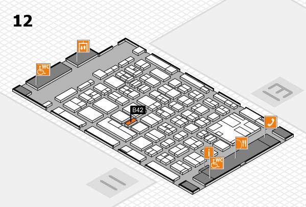 boot 2017 hall map (Hall 12): stand B42