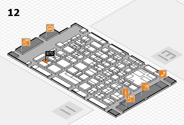 boot 2017 hall map (Hall 12): stand B70