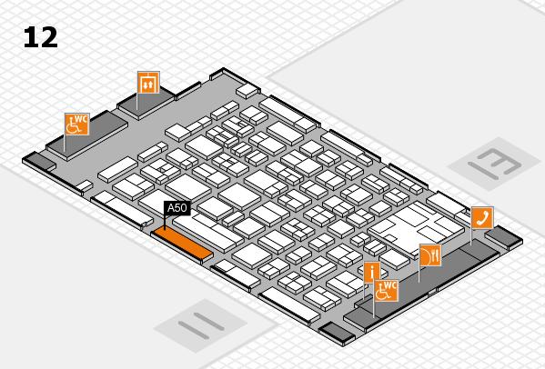 boot 2017 hall map (Hall 12): stand A50