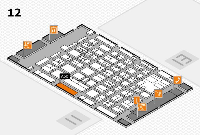 boot 2017 Hallenplan (Halle 12): Stand A50