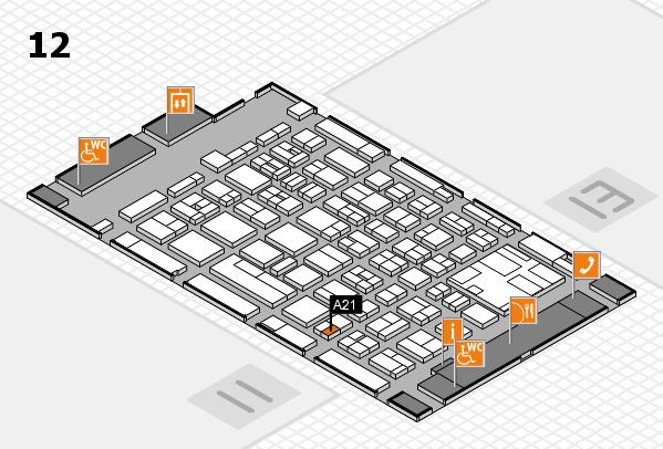 boot 2017 hall map (Hall 12): stand A21