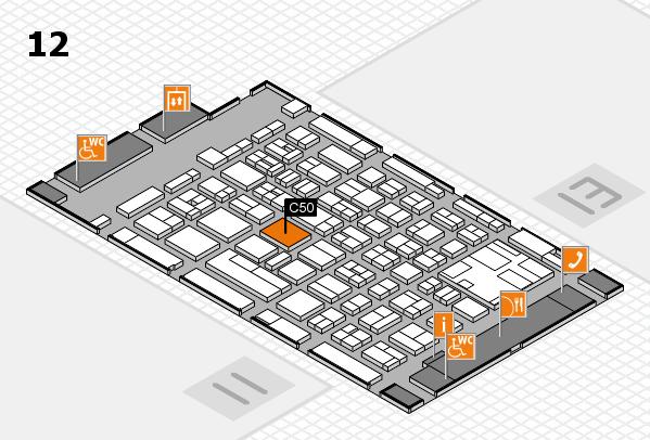 boot 2017 Hallenplan (Halle 12): Stand C50