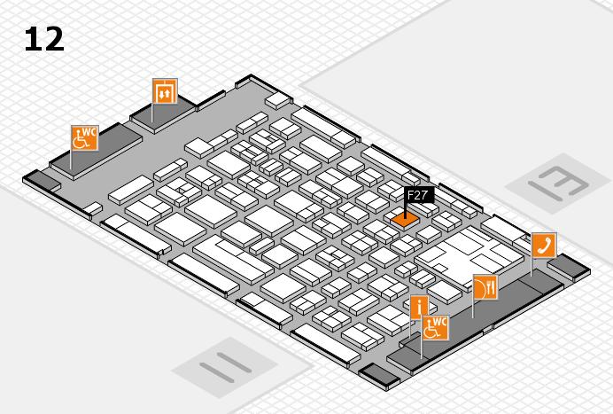 boot 2017 hall map (Hall 12): stand F27