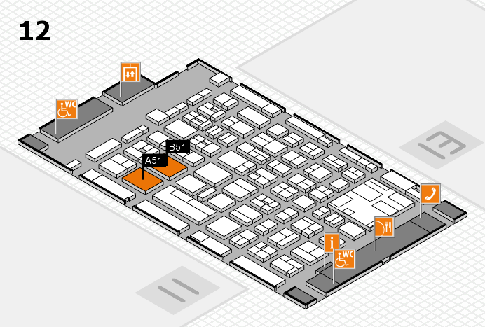 boot 2017 Hallenplan (Halle 12): Stand A51, Stand B51