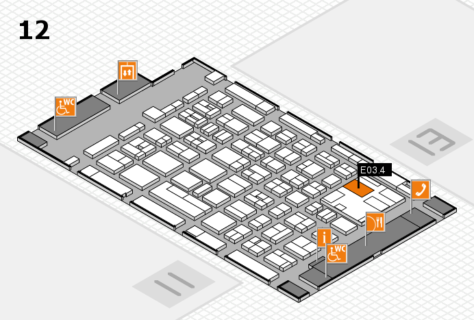 boot 2017 hall map (Hall 12): stand E03.4