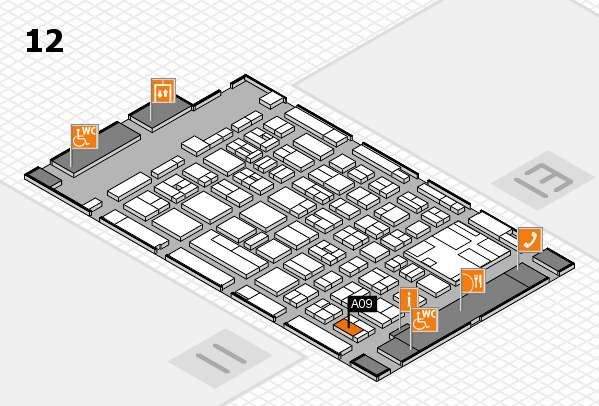 boot 2017 hall map (Hall 12): stand A09