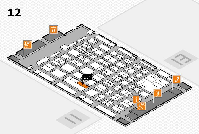 boot 2017 Hallenplan (Halle 12): Stand B34