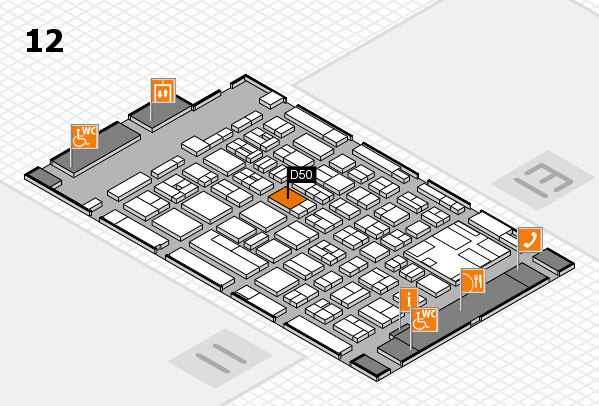 boot 2017 Hallenplan (Halle 12): Stand D50