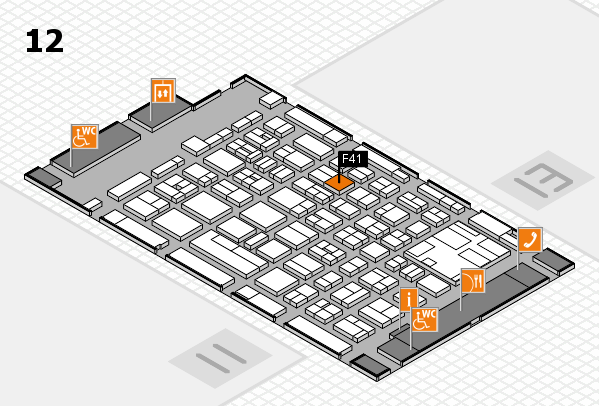 boot 2017 hall map (Hall 12): stand F41