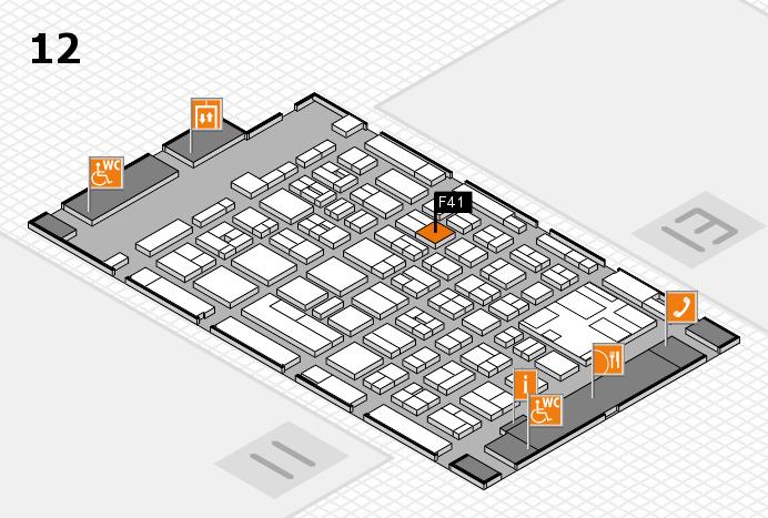 boot 2017 Hallenplan (Halle 12): Stand F41